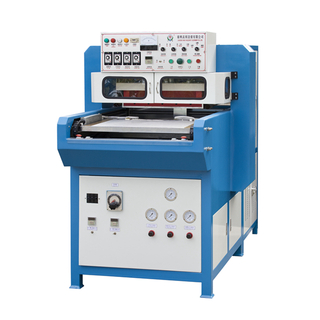 Double laver automatic slding table high frequency welding machine