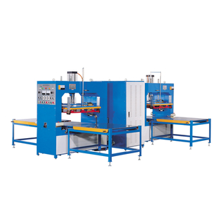 Four work station sliding style high frequency plastic welding machine