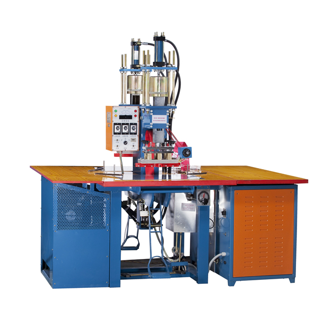 Hydraulic high frequency PVC & leather embossing machine