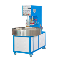 Automatic Rotary table PVC plastic blister packing high frequency welding machine
